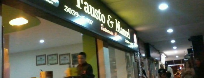 Fausto & Manoel is one of Places.