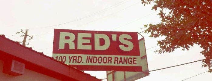 Red's Indoor Range South is one of AUS Faves and To Do.