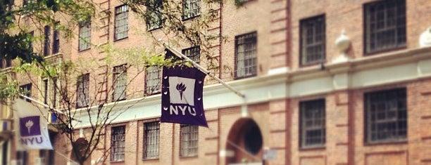 NYU Hayden Residence Hall is one of NYU Housing.