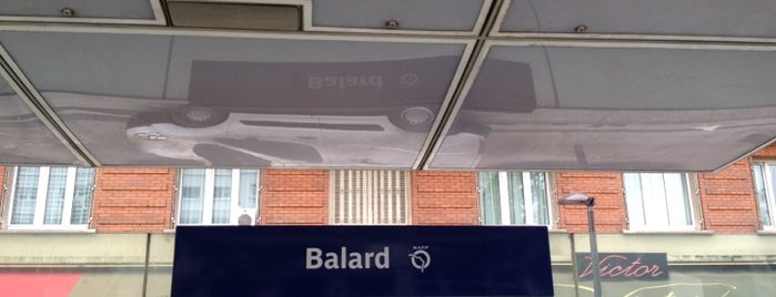 Station Balard [T3a] is one of Tramway T3a.