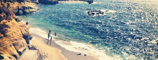 Shell Beach - La Jolla Cove is one of San Diego.