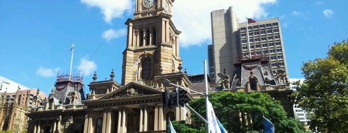 Sydney Town Hall is one of Around The World: SW Pacific.
