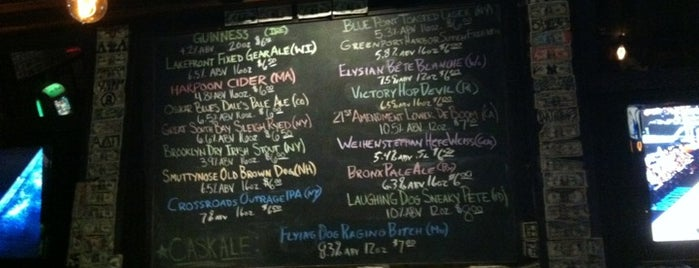 Bronx Alehouse is one of Good Beer Seal bars.