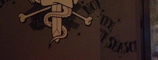 Santo Anger is one of Bars + Restaurants.