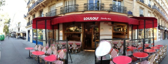 Loulou' Friendly Diner is one of Quartier Latin.