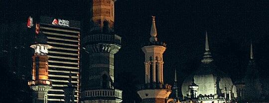Masjid Jamek Kuala Lumpur is one of masjid.