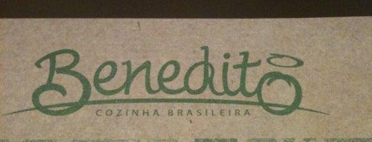 Benedito Cozinha Brasileira is one of Restaurantes preferidos.