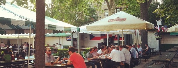 Bohemian Hall & Beer Garden is one of NYC's Best Patios, Rooftops, and Beer Gardens.