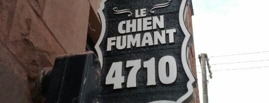 Le Chien Fumant is one of Mes plans A.