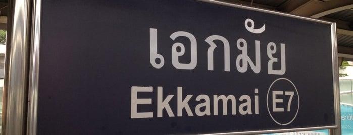 BTS Ekkamai (E7) is one of BTS Station - Sukhumvit Line.