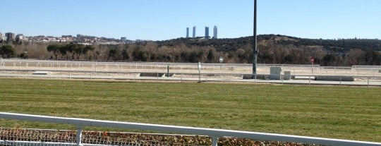 "Hipódromo de la Zarzuela is one of Ruta por el Madrid de la novela: ""EL ESCALON 33""."