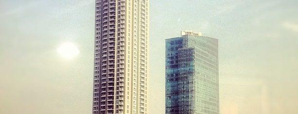 Menara Sudirman is one of Jakarta. Indonesia.