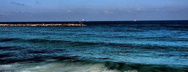 Metzitzim Beach is one of Tel Aviv.