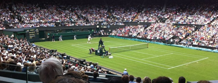 Centre Court is one of 2 do list # 2.