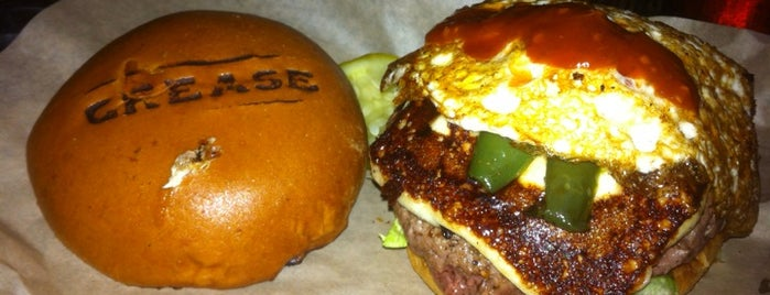 Grease Burger, Beer and Whiskey Bar is one of Date night restaurants.