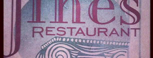 Jines Restaurant is one of Favorite Food.