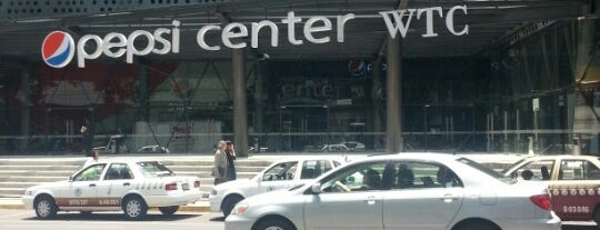 Pepsi Center WTC is one of Algunos lugares....