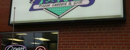 Zesty's Frozen Custard is one of Places I Like : ).