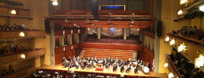 Kennedy Center Concert Hall - NSO is one of The 15 Best Places with a Balcony in Washington.