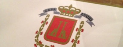 Casa Lucio is one of Salir en Madrid.