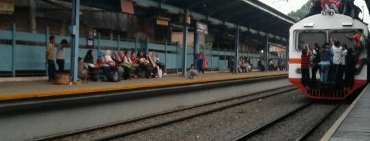 Stasiun Tebet is one of activity goes to campus.