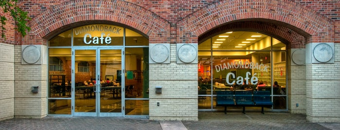 Diamondback Cafe is one of Campus tour.