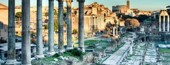Foro Romano is one of Go Ahead, Be A Tourist.