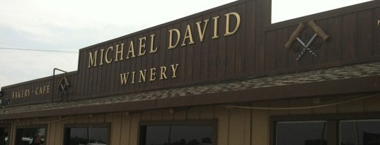 Michael David Winery is one of Where to find Sauce Goddess in California.