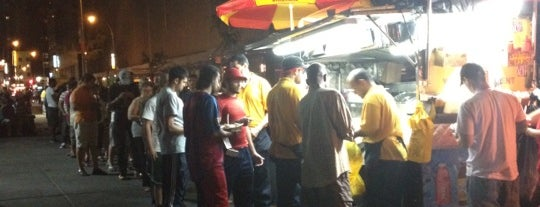 The Halal Guys is one of New York cheap eats.