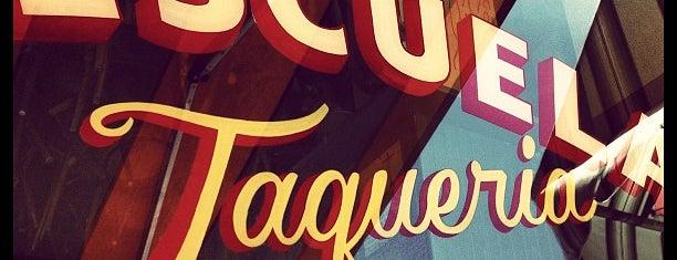 Escuela Taqueria is one of Bollare's Little Black Book: LA Edition.