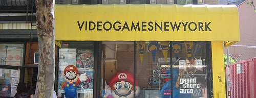 Video Games New York is one of Best Retrogaming Shops.