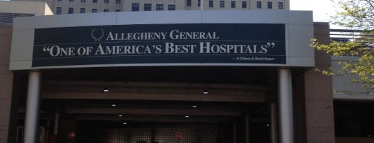 Allegheny General Hospital is one of Hospital.