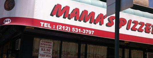 Mama's Pizzeria is one of In the Morning.