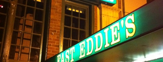 Fast Eddie's Sports & Billiards is one of places to dine.