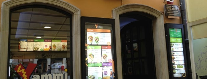 Yammi Wraps is one of Wroclaw-erasmus.