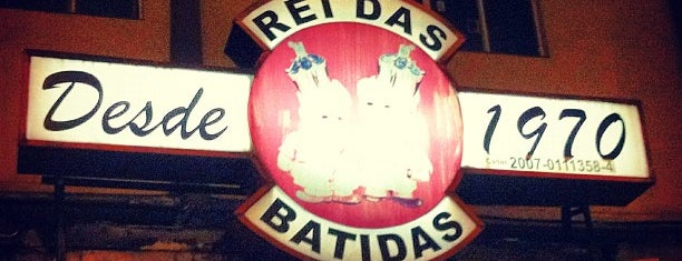 Rei das Batidas is one of Must-visit Bars in São Paulo.