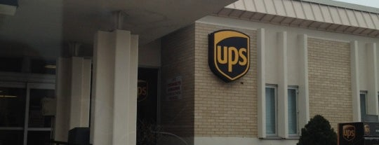 UPS Customer Center is one of Places I End Up Frequently.