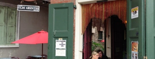 Tony Seville's Pirates Alley Cafe & Old Absinthe House is one of Paranormal Traveler.