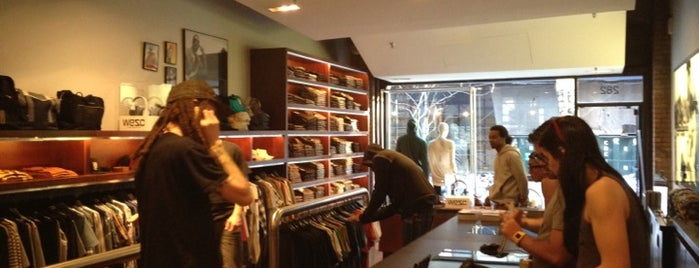 WeSC (We are the Superlative Conspiracy) is one of NYC - Stores.