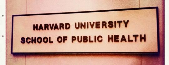 Harvard School of Public Health is one of Longwood Medical Area.