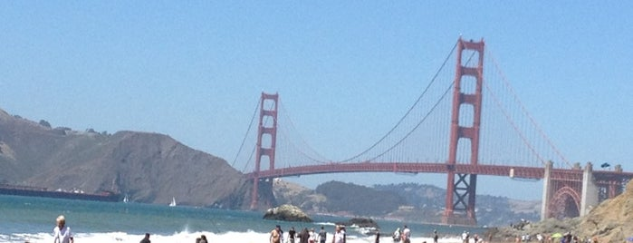 Baker Beach is one of The 50 Most Popular Beaches in the U.S..