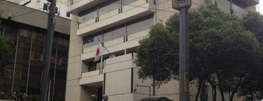 Embajada de Japón en México / 在メキシコ日本国大使館 is one of Comida japonesa y más.