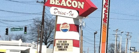 Beacon Drive-In is one of Diners, Drive-Ins, & Dives.