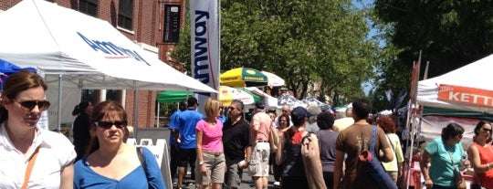 Nyack's Famous Street Fair is one of Hudson Valley.