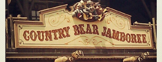 Country Bear Jamboree is one of Magic Kingdom Guide by @bobaycock.