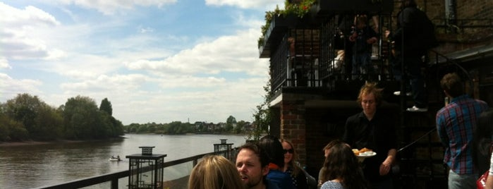 The Dove is one of London's Best Beer Gardens.