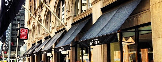 The National Bar & Dining Rooms is one of My Bucket List Restaurants.