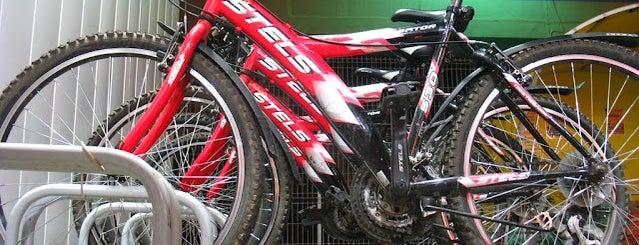 Велопрокат на АЗС (А-100) is one of Minsk-on-bike.