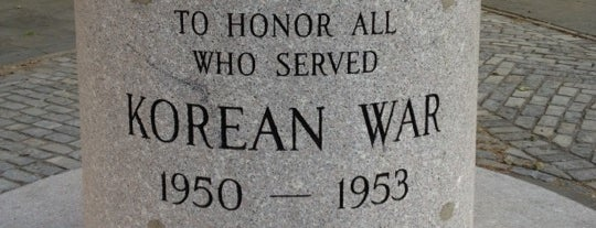 Korean War Veterans Plaza is one of NYC - Brooklyn Places.