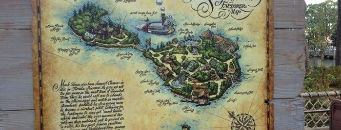 Tom Sawyer Island is one of Magic Kingdom Guide by @bobaycock.